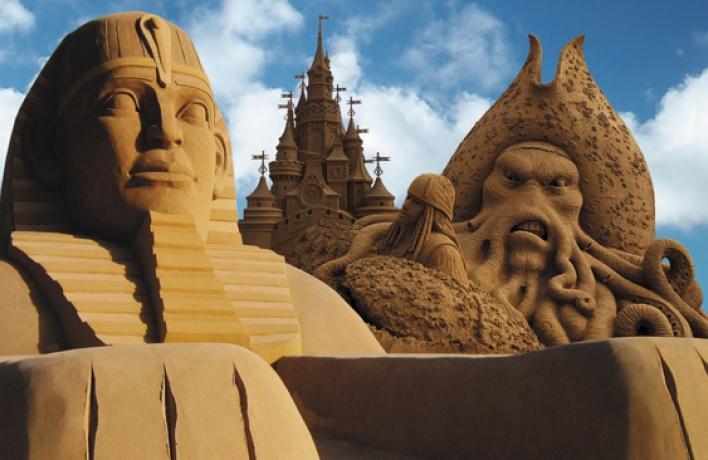 Фестиваль песчаных скульптур — 2016
