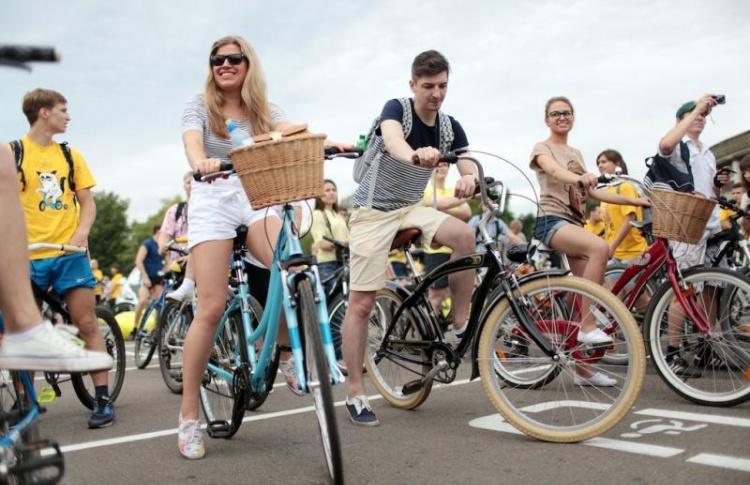 Велопарад пройдет в Петербурге