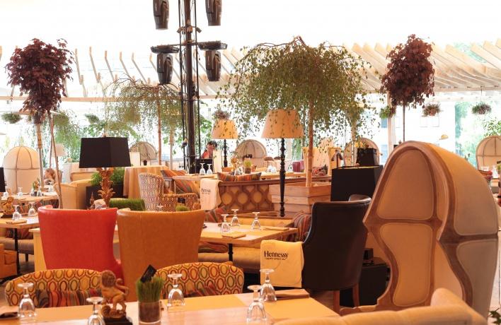 Официальное открытие летней веранды  ресторана Shakti Terrace