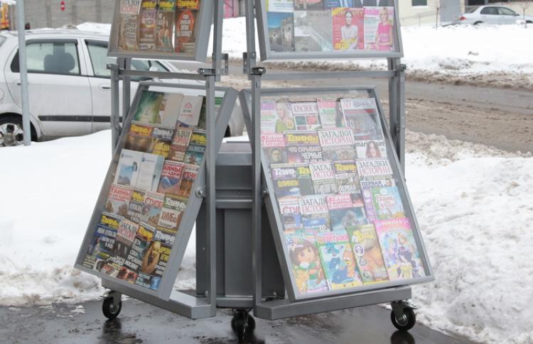 В Москве появятся мобильные стойки с прессой