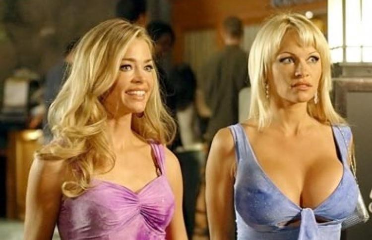 Блондинка и блондинка