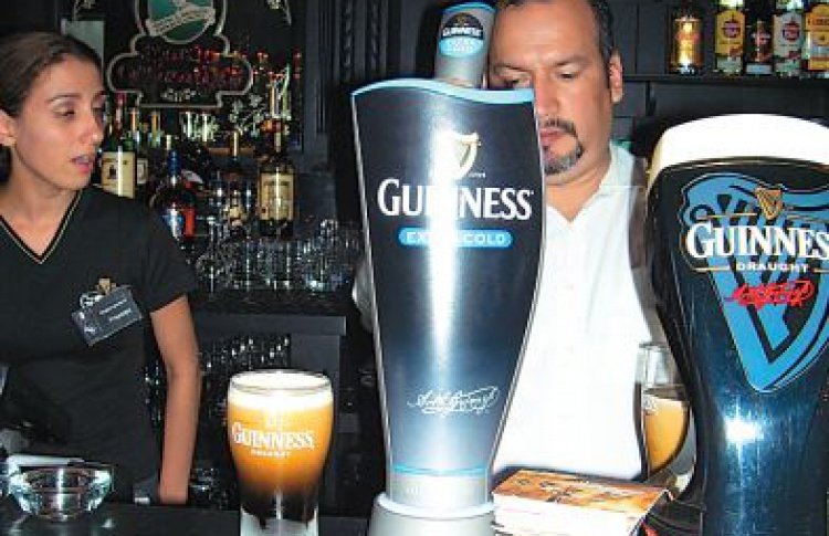 Guinness холодного разлива в Eat & Talk