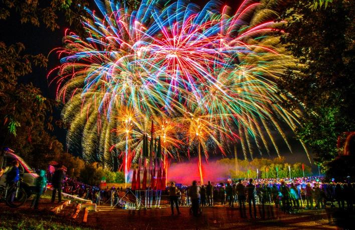 На фестивале фейерверков дадут 50 тысяч салютов