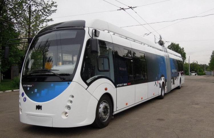 Вот такие безрогие троллейбусы будут ездить в Москве