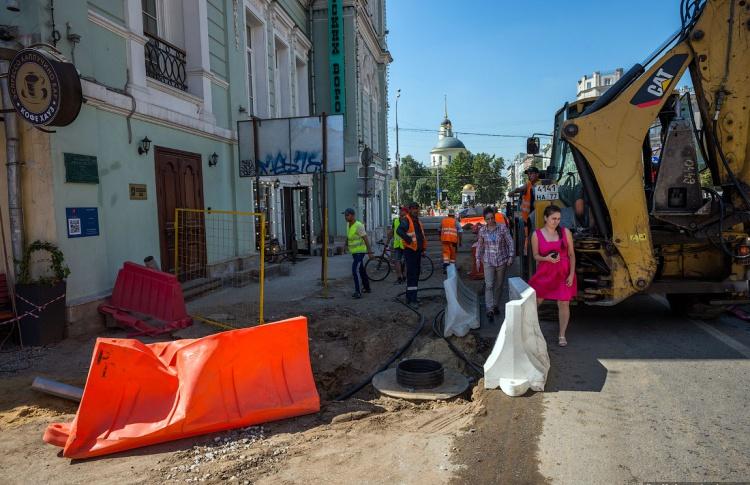 Открылся прием жалоб на стройплощадки «Моей улицы»