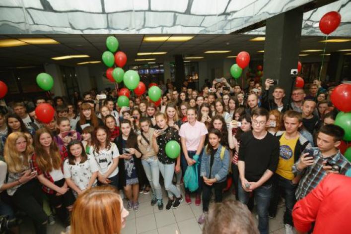 NESCAFÉ® 3В1 проверил на прочность  студентов г.Владивосток                                 и подарил им небывалую порцию вдохновения