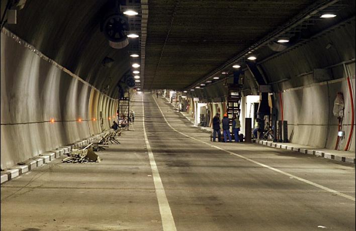 Лефортовский тоннель будут перекрывать на ремонт по ночам