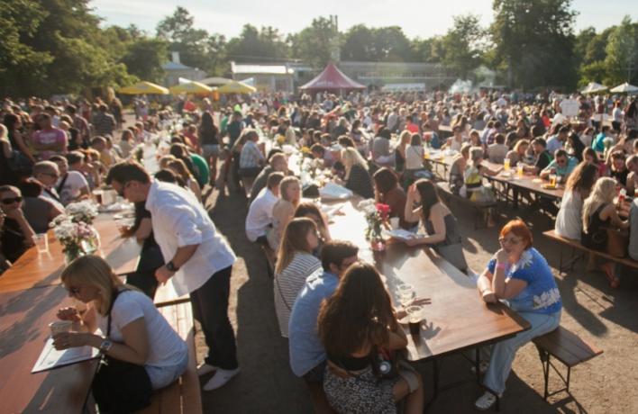 Фестиваль «О, да! Еда!» пройдет в Парке Горького в эти выходные
