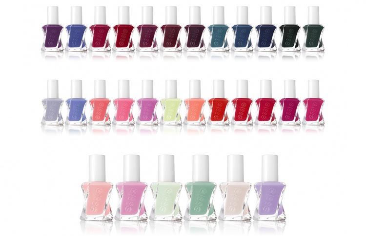 Высокая мода и долговременное покрытие  представляют essie gel couture™