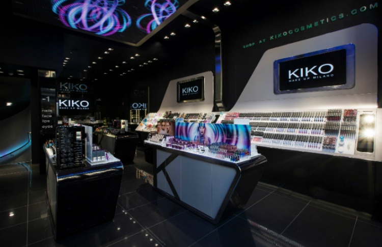 В Москве появится первый магазин косметики Kiko Milano