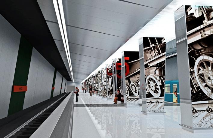 Станция метро «Минская» откроется осенью