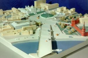 Началась реконструкция Боровицкой площади