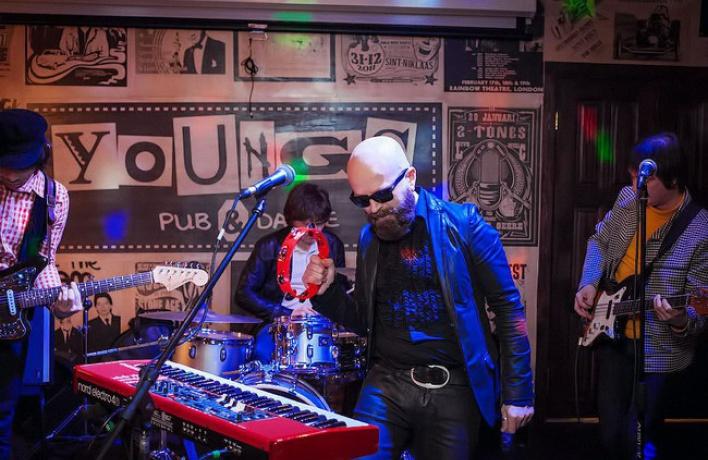 Московская группа «Space Race» даст живой концерт на веранде «Летнего Сада»