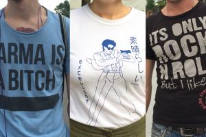 Что надпись на футболке говорит о вас?