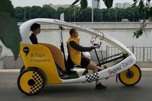 В «Яндекс.такси» появились бесплатные велокэбы