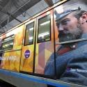 Поезд «Легенды кино» запустили на Кольцевой линии метро