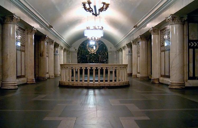«Лучшие места для фото» появились в метро