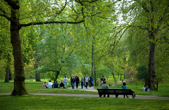 В Петербурге станет на два новых парка больше