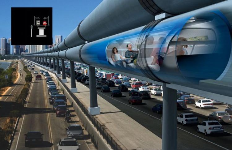 В Москве планируют реализовать проект вакуумного высокоскоростного поезда
