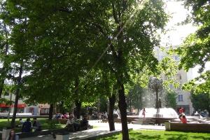 В Москву пришла жара с дождями
