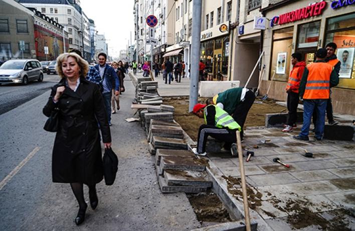 Как пострадали рестораны  из-за «Моей улицы»