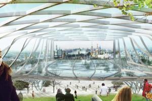 В подземном переходе под Москворецкой набережной создадут стеклянный музей «Зарядья»