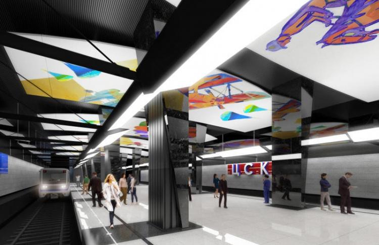 Какой будет станция метро «ЦСКА»