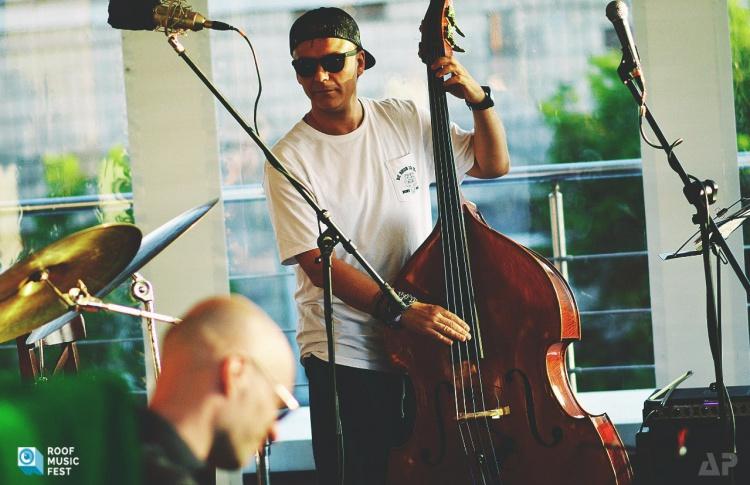 Выступление International Jazz Band