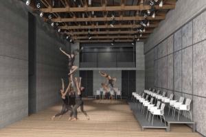 У «Электротеатра» появится новая сцена и театральный двор
