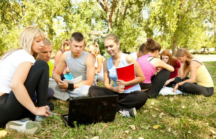 В парках будут бесплатно учить иностранным языкам