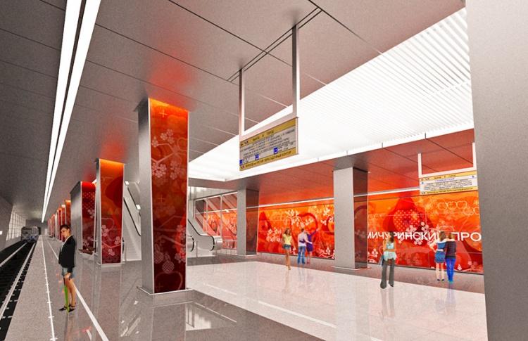 На станции «Мичуринский проспект» будет три уровня