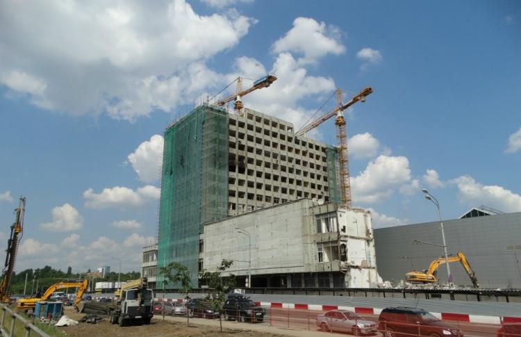 На «Полежаевской» промзону заменят жилым районом