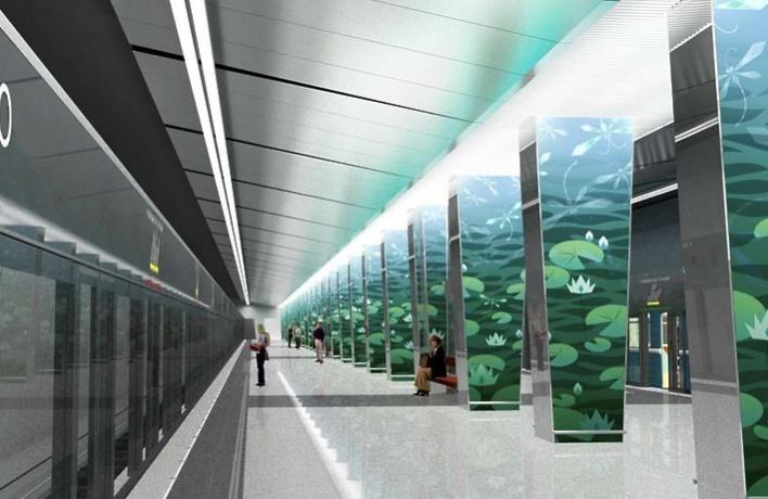 Какой будет станция метро «Очаково»