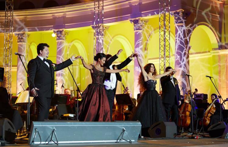 Симфонический оркестр в Зеленом театре