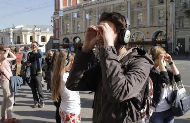 Спектакль-путешествие «Remote Петербург»
