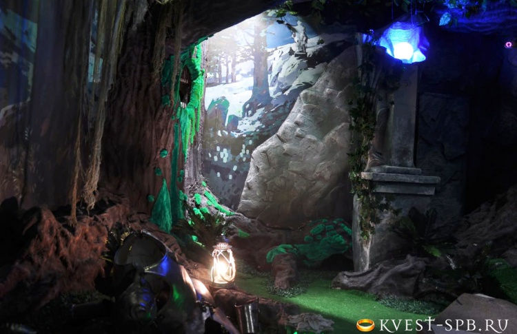 Квест «Эльфийские гробницы»