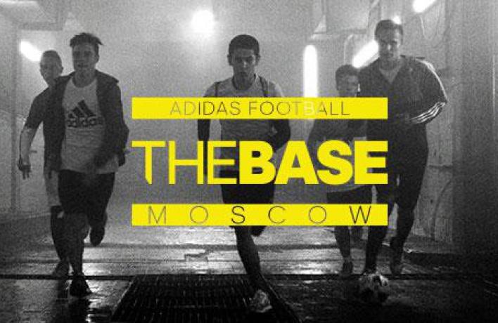 adidas перезапускает футбольное пространство THE BASE Moscow
