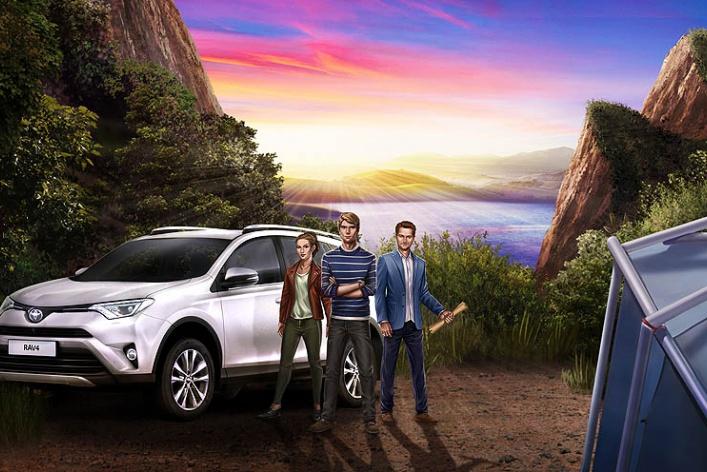 Toyota в России представляет приключенческий онлайн-квест        «В поисках затерянного города»