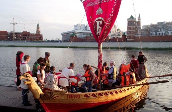 Впервые на «Русском поле» будут плавать копии кораблей