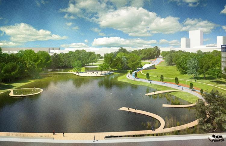 В «Сколково» появится сеть ландшафтных парков