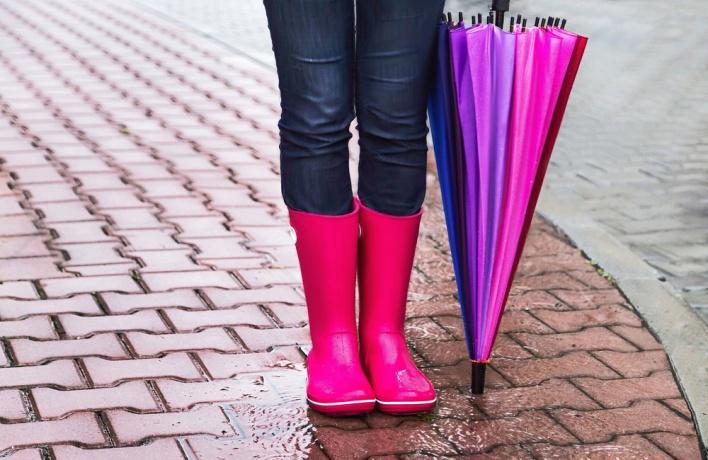 Пункты проката зонтов могут появиться вМоскве осенью