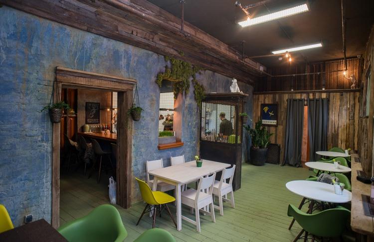 Новое место: кафе-лаборатория GROOT