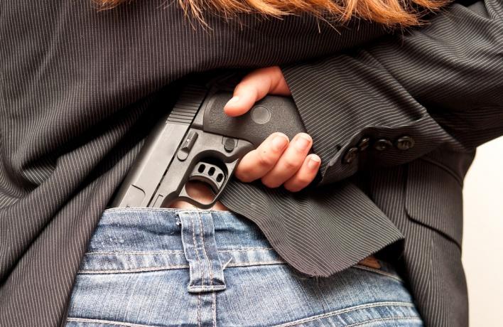 В Москве запускают первые курсы самообороны с пистолетом