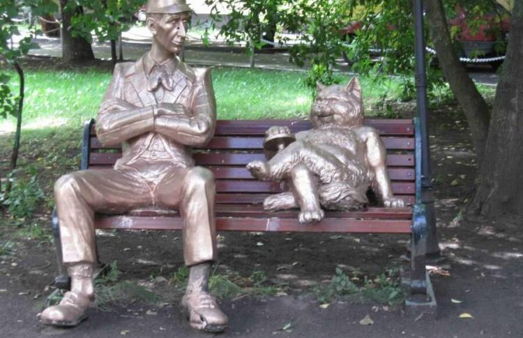 Кот Бегемот выйдет в сеть на онлайн-чтениях Булгакова