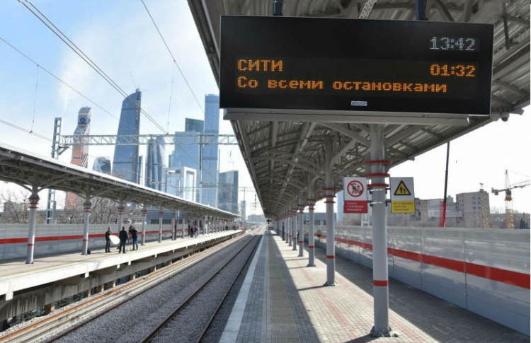 Городская железная дорога в Москве месяц будет бесплатной