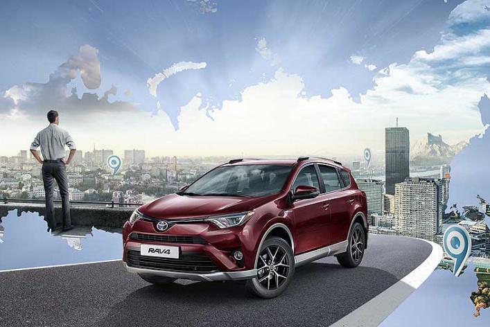 Toyota объявляет о старте приема заказов на новую специальную серию RAV4 Exclusive