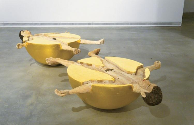 Стефан Балкенхол. Скульптуры и рельефы