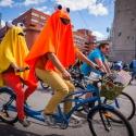 Велопробег с участием артистов театров