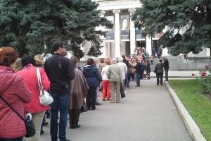 Любители искусства опять штурмуют Пушкинский музей