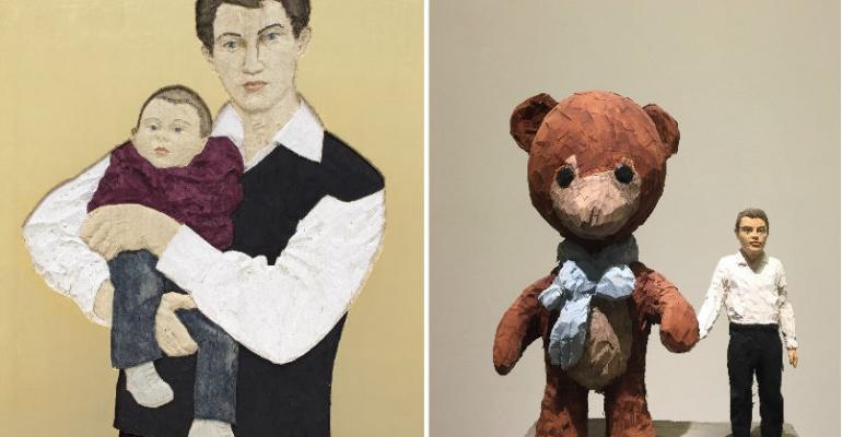 5 самых странных скульптур на выставке Стефана Балкенхола в ММОМА
